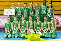 Vyvrcholení basketbalové sezony v kategorii U14 se uskutečnilo v Prostějově. Oddíl TJ DDM Česká Lípa skončil těsně pátý.