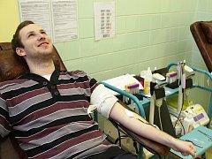Studenti, které čeká letos maturitní zkouška, brali první darování krve jako dobrou životní zkušenost.