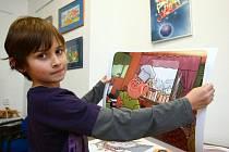 Výstavu Čtyřlístek v ilustracích Jaroslava Němečka nejen pro film můžete navštívit v Muzeu Čtyřlístek v Doksech do 24. února.
