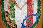Tvůrci zajímavých uměleckých děl v krátkých vystoupeních v krátkých vystoupeních prezentovali informace nejen o tom, jak erby vznikaly, ale také které materiály použili a co, jak a proč jejich znaky a erby obcí a měst představují.