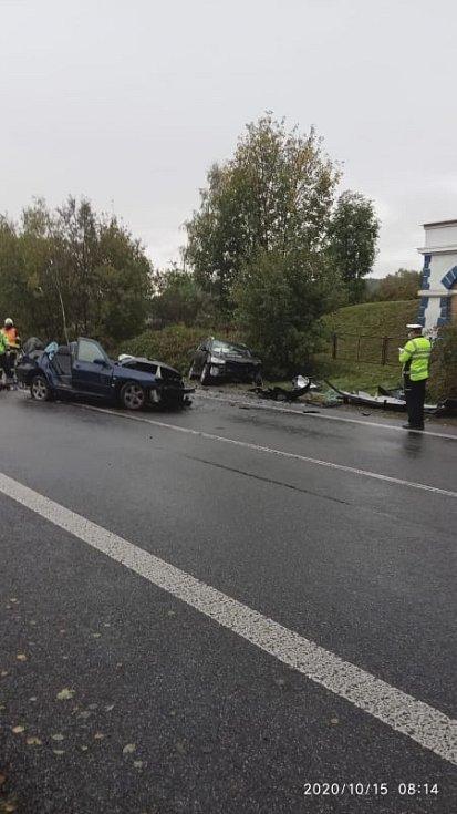Ranní nehoda u Svoru.