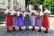 Úrodu a sklizeň oslavili o víkendu v Brništi tradičními Dožínkami.