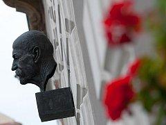 Veřejné setkání u busty T. G. Masaryka.