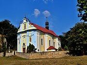 Kostel, jenž od roku 2002 prošel zásadní obnovou.