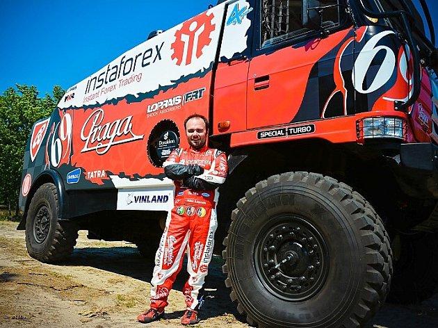 Aleš Loprais je velmi dobře známý automobilový závodník, který Českou republiku a InstaForex Loprais tým pravidelně reprezentuje na Rallye Dakar.