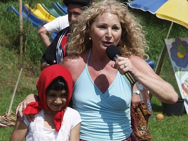 Velký prostor bude mít živá dětská show se Světlanou Nálepkovou