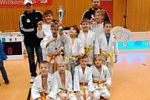 O cenné kovy na dvoudenním turnaji v německém Sprembergu bojovali judisté SK JUDO Nový Bor.