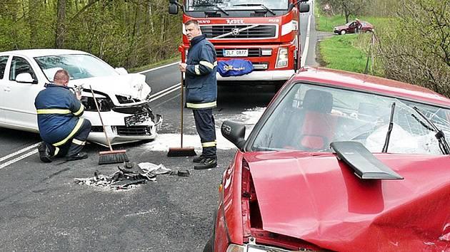 Jedna z nehod, ke které došlo v loňském roce nedalo Pihelu.
