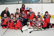 Hokejová přípravka HC Predators Česká Lípa zvítězila na turnaji v Kolíně.