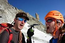 Po loňském výstupu na Mont Blanc zamířili dva Boráci o něco níže, nikoliv však jednodušeji.