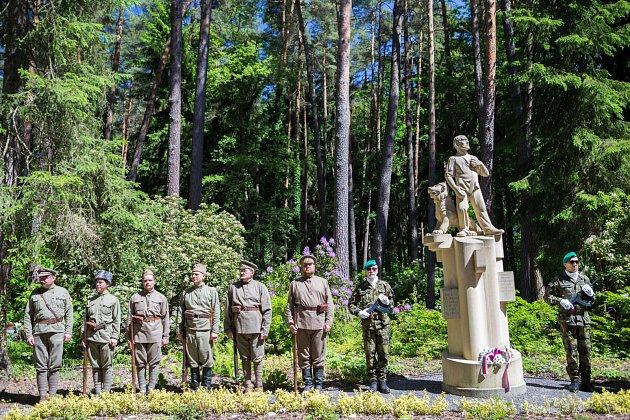 Nový Bor si připomněl 100let od Rumburské vzpoury.