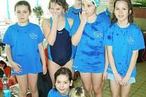 Mladí českolipští plavci přivezli z Příbrami devět medailí.