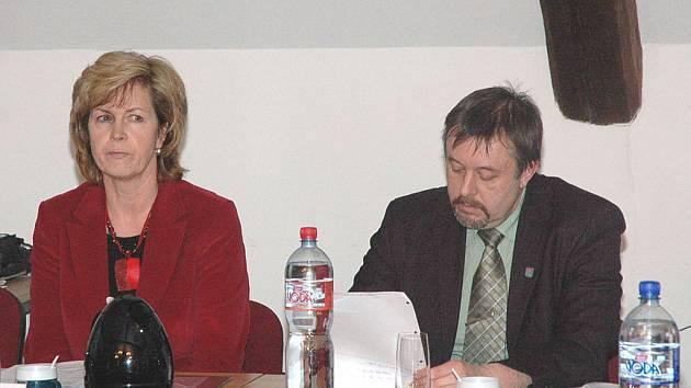 Místostarostka Stanislava Silná i Jindřich Mareš zůstávají ve funkcích