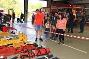 Profesionální hasiči z České Lípy uspořádali oblíbený Den otevřených dveří.