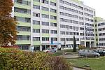 Hlavní budova Nemocnice s poliklinikou Česká Lípa.