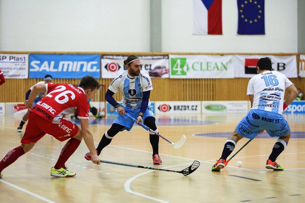 FBC 4CLEAN Česká Lípa - Sokol Pardubice 8:15 (3:7, 1:3, 4:5).