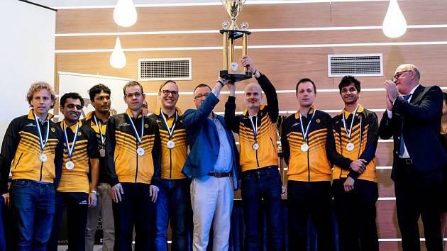 Tým Nového Boru vybojoval stříbrné medaile na Evropském klubovém poháru.