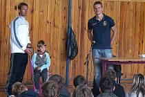 Petra Jandu pozval do Č. Lípy Martin Hamada (vlevo).