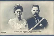 František Ferdinand d´Este s Žofií Chotkovou.