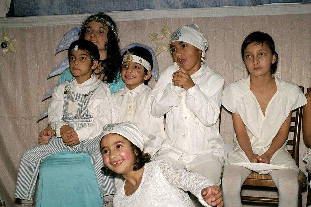Děti z dětského domova v Krompachu