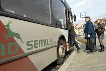 Autobusy městské dopravy v České Lípě i dnes pojedou podle jízdních řádů.