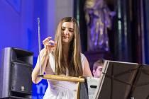 V pátek 21. září se v bazilice Všech svatých představila světová thereministka Carolina Eyck za doprovodu klavíristy a skladatele Christopha Tarnowa.