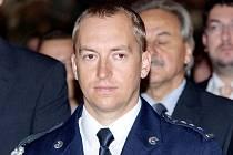 DAVID BAUER v Praze převzal medaili za statečnost, které uděluje ministr vnitra.
