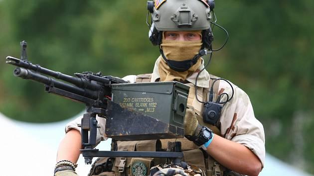 Po roce se do Ralska vrací vojenská simulace Protector.