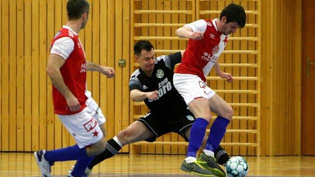 Futsalisté České Lípy doma podlehli pražské Slavii 3:4.