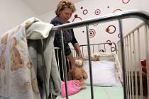 Klokánek je projekt Fondu ohrožených dětí, jehož cílem je nabídnout dětem namísto ústavní výchovy přechodnou rodinnou péči. Snímek je z Klokánku v Olomouci.