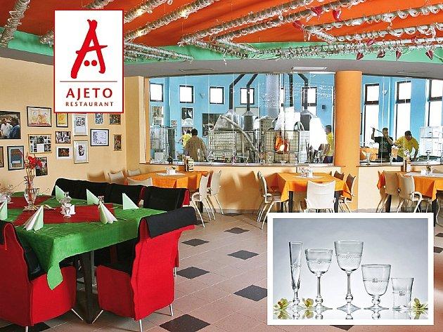 Soutěž s restaurantem Ajeto v Novém Boru.