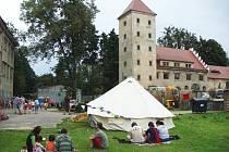 Zámek v Horní Libchavě.