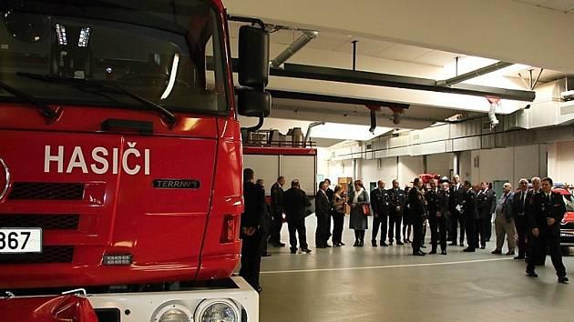 Ve čtvrtek se na českolipské požární stanici konaly oslavy padesáti let fungování profesionálního hasičského sboru v České Lípě.