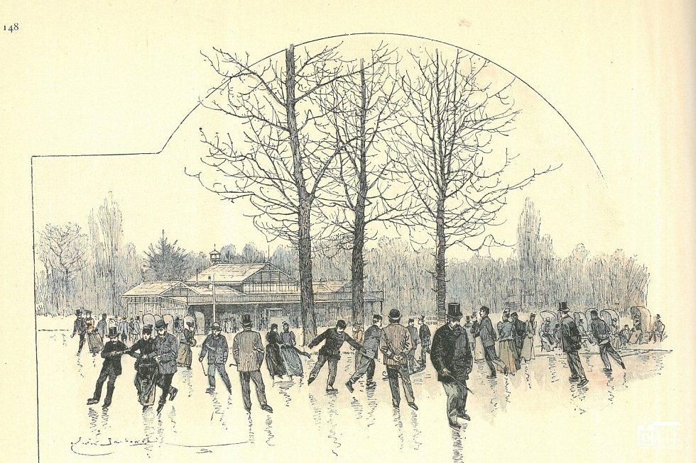 Móda zimních sportů.