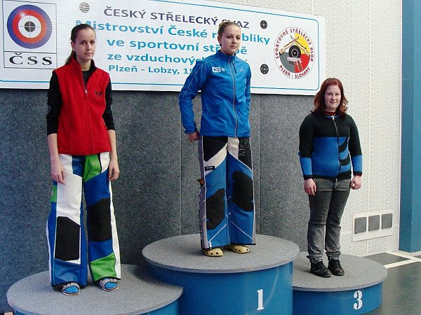 Vjuniorské kategorii ovládly stupně vítězů manušická Romana Klečková a Michaela Širlová. Ty obsadily druhou a třetí příčku.