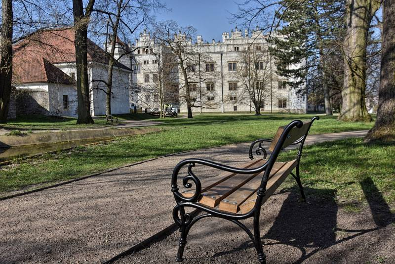 Renesanční zámek v Litomyšli na Svitavsku. Od roku 1999 patří mezi památky UNESCO.