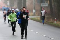 Novoroční běh okolo Máchova jezera se koná už po devětatřicáté.