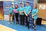 První místo týmu Střední průmyslové školy vČeské Lípě na mezinárodních závodech aut na vodíkový pohon.