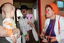 Českolipská nemocnice byla mezi prvními nemocnicemi, které Zdravotní klaun začal navštěvovat.