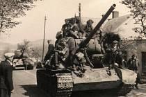 Příjezd polských jednotek do Kamenického Šenova.