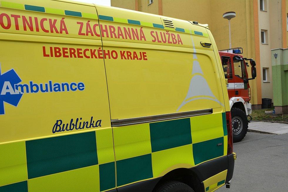Zdravotnická záchranná služba Libereckého kraje.