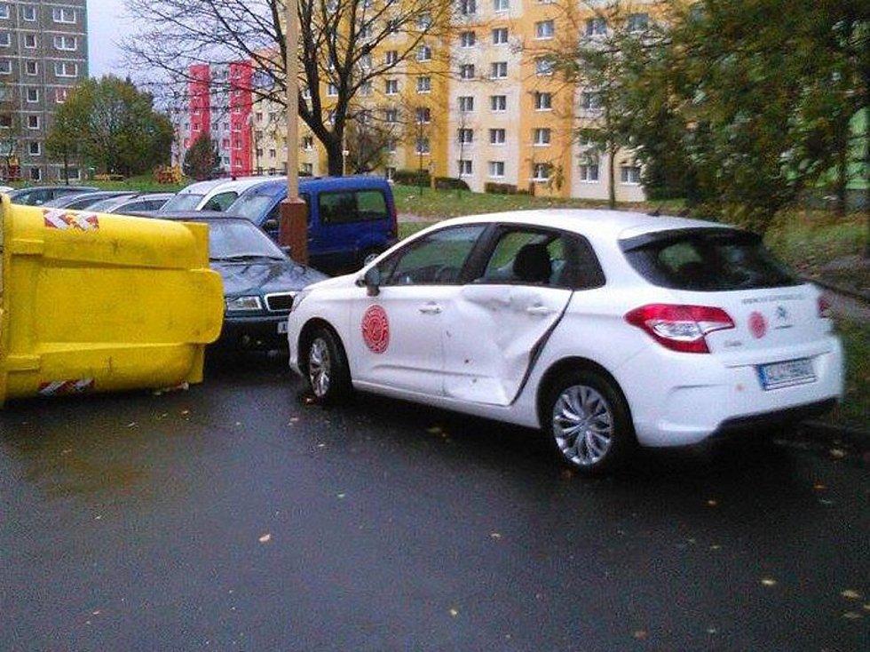 Na Českolipsku došlo k desítkám událostí v souvislosti s vichřicí.