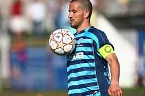 Jan Broschinský ještě v dresu českolipského Arsenalu. Nyní kope za nedaleký Nový Bor.