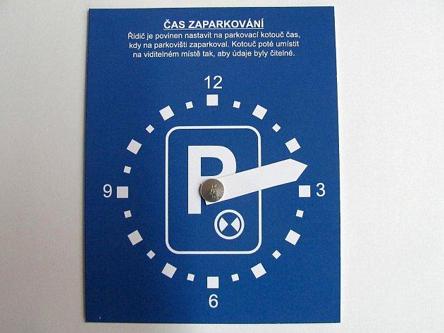 Parkovací hodiny.