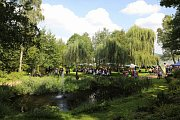 Doksy hostily šestý ročník Vinobraní. Nejrychleji byl vyprodaný speciální růžový burčák z Valtic.
