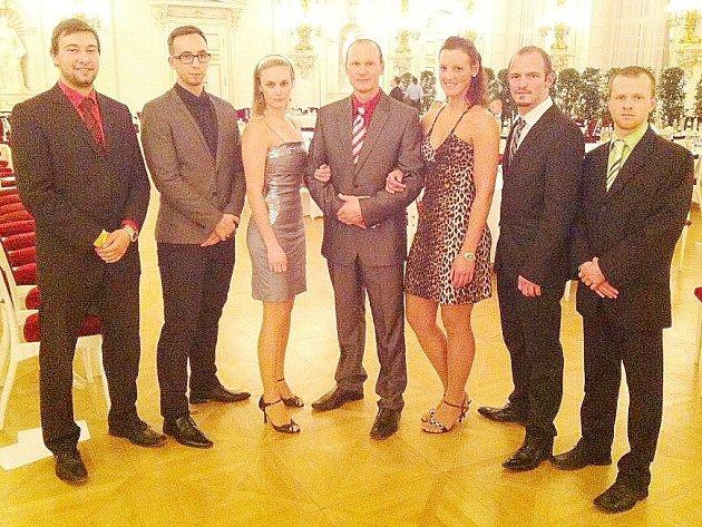 Pavel Znamenáček, Ondřej Samek, Jakub Kolek, Jan Drobeček, Adam Zdobinský, Karin Košíková a Jana Bělohlavová.
