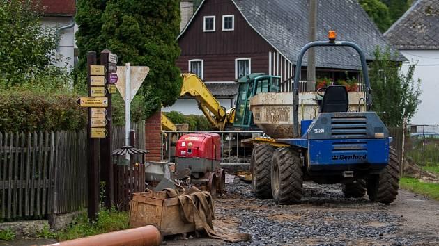 Téměř dva a půl roku náročných stavebních prací ve Sloupu v Čechách se chýlí ke konci.