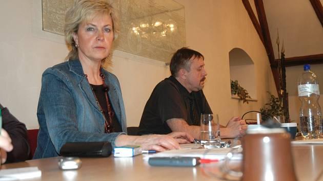 Nahrávání zasedání zastupitelů v Novém Boru