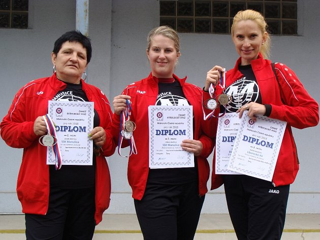 Z Mistrovství České republiky ve sportovní střelbě se do České Lípy vrátilo 6 vicemistrů a 1 mistr ČR pro rok 2018.