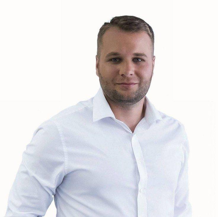 Miloslav Tůma, 28 let, starosta města Ralsko.